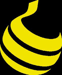 YF beeldmerk geel